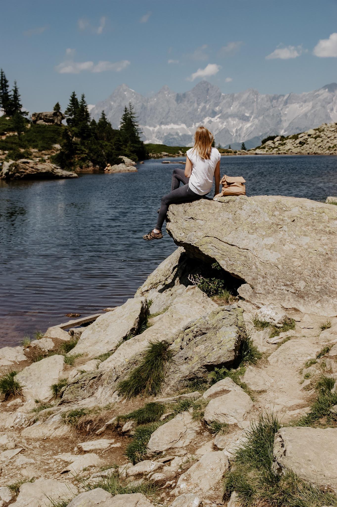 Reiteralm, Wanderung, Spiegelsee