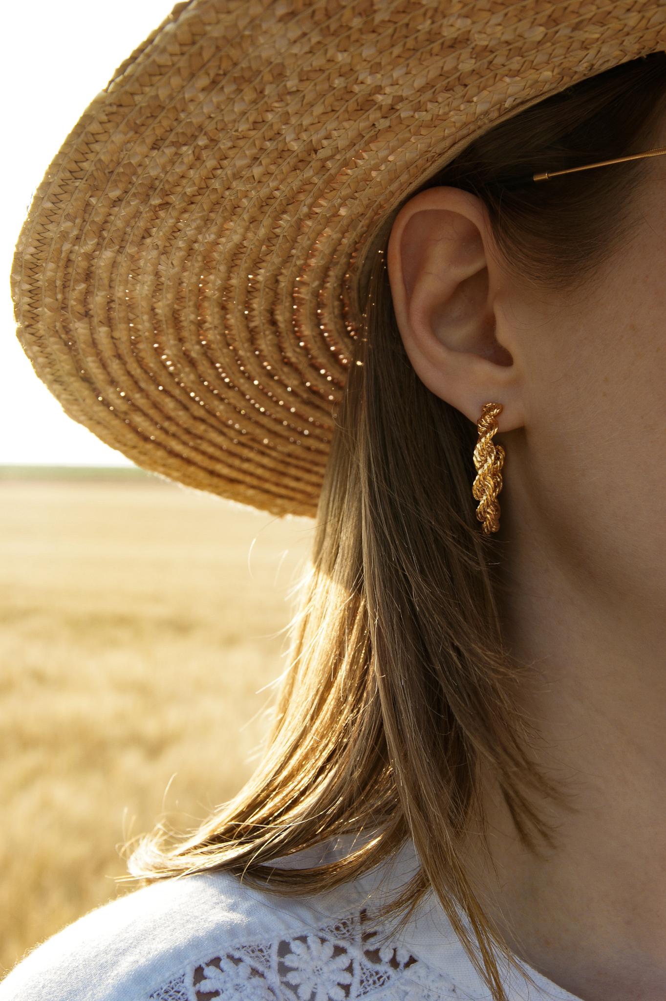 inyati Ohrringe, hoops, twisted earrings