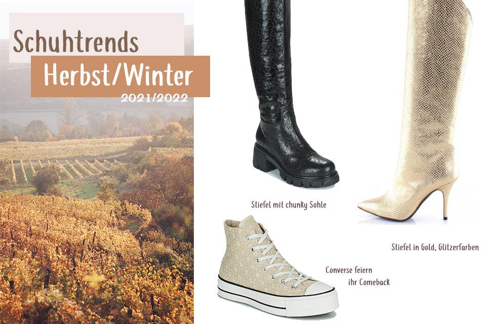 Schuhtrends Herbst Winter 2021 2022